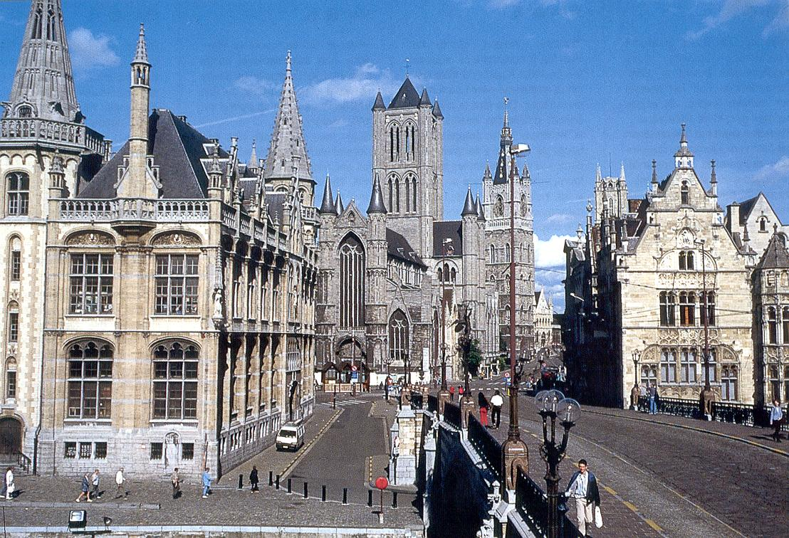 The Three Towers of Gent